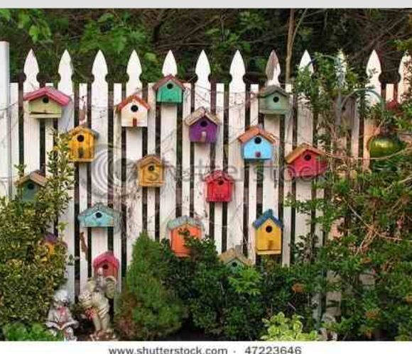 So cute 정원 Pinterest Gardens, Bird houses and Garden ideas