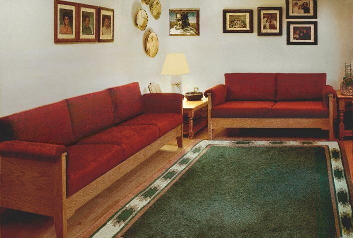 Scandinavian Sofas Loveseats
