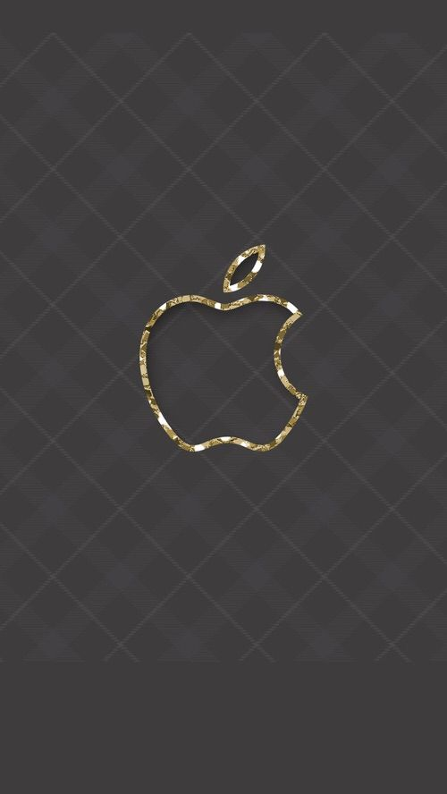 Iphone Wallpaper Background Black Gold Gray Glitter Apple
