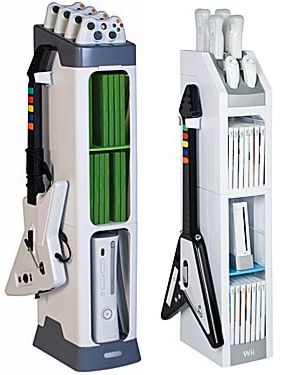 Elegant Xbox And Wii Gaming Towers Look More Like Gaming Shrines Than Shelves $59.99