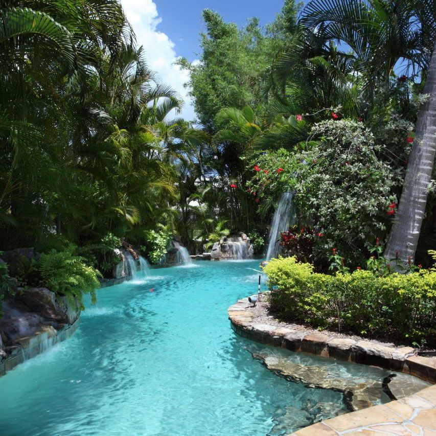 Exceptional! Lagoon Style Pool