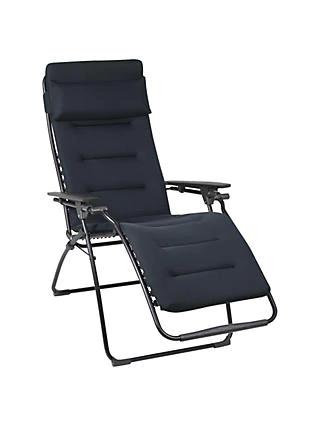 Lafuma Air Comfort Futura Sun Lounger Graphite Sun Lounger Lounger Relaxation Room