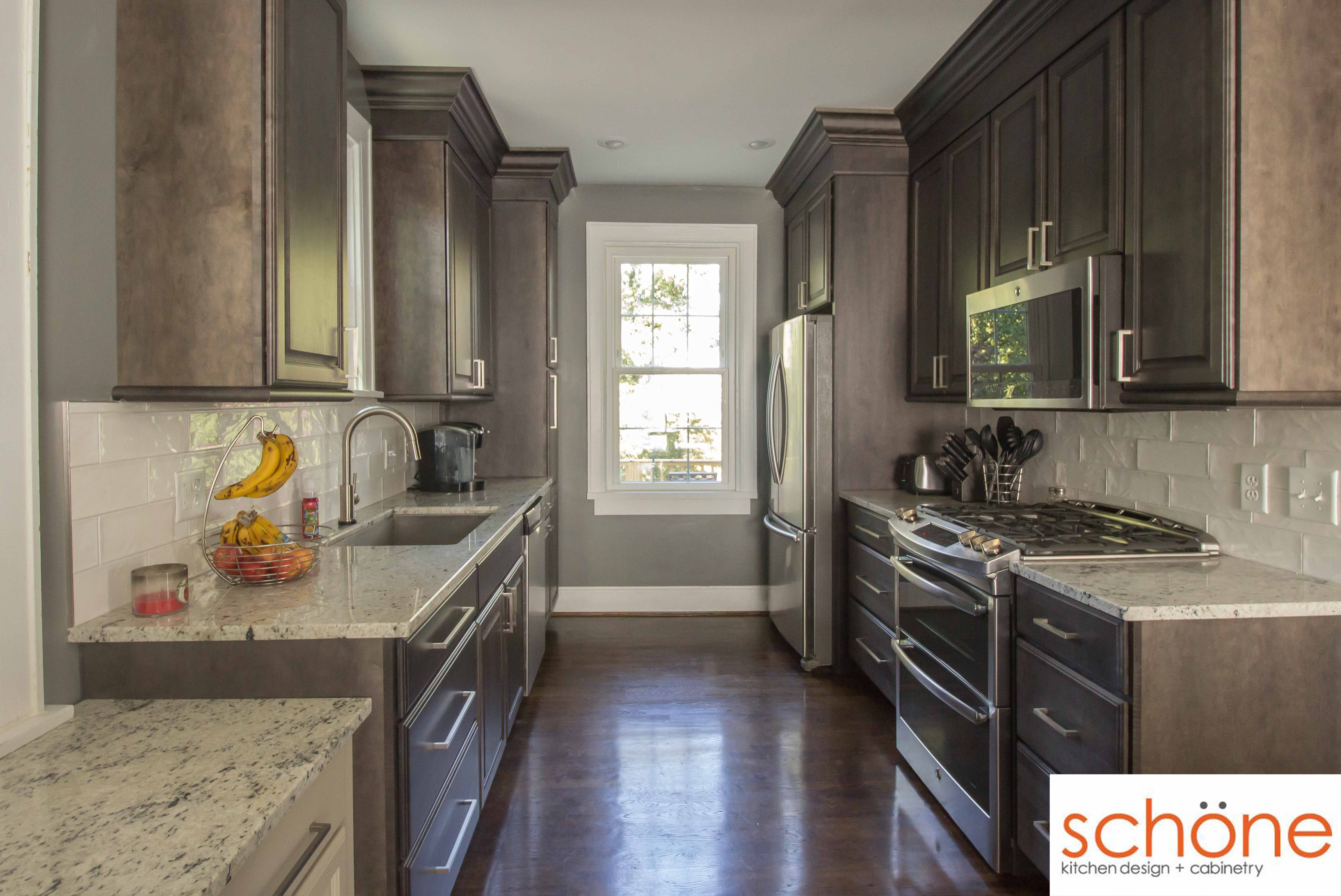 Take A Tour Of This Beautiful Space We Redid That Didn T Break The Clients Bank This Warm And Inviting Kitchen Custom Kitchens Design Kitchen Design Kitchen