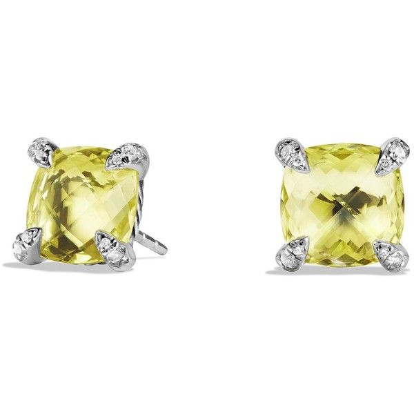 citrine liked yurman with chatelaine pin diamonds and on david earrings polyvore lemon