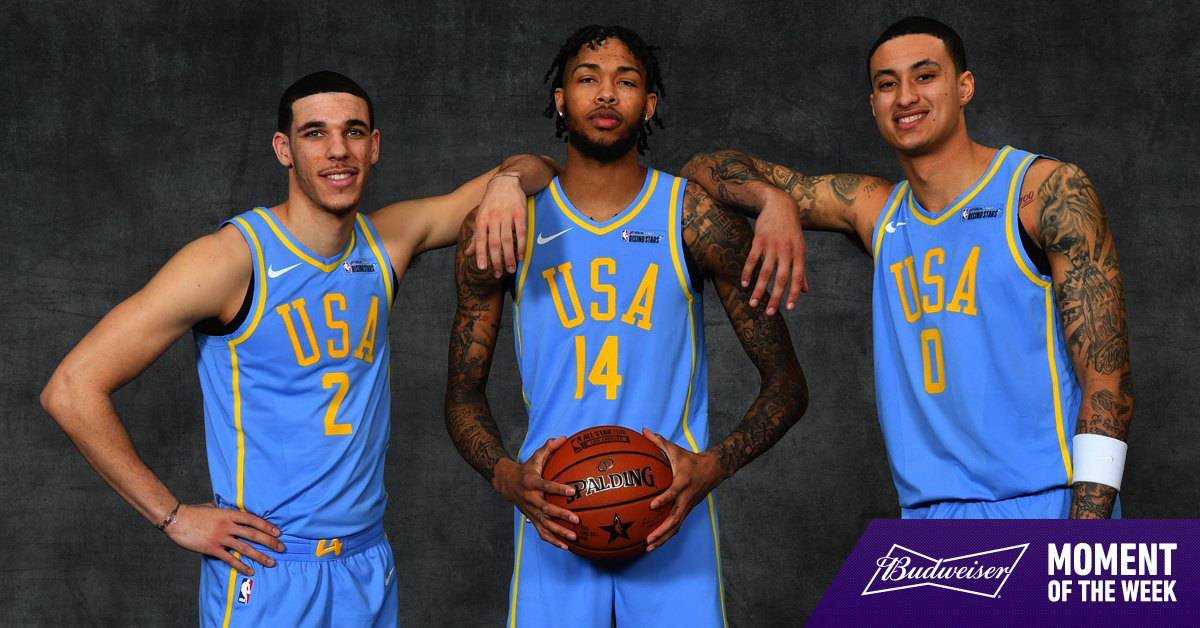 new photos acdcf f0061 These three shining bright during #NBAAllStar weekend is our ...