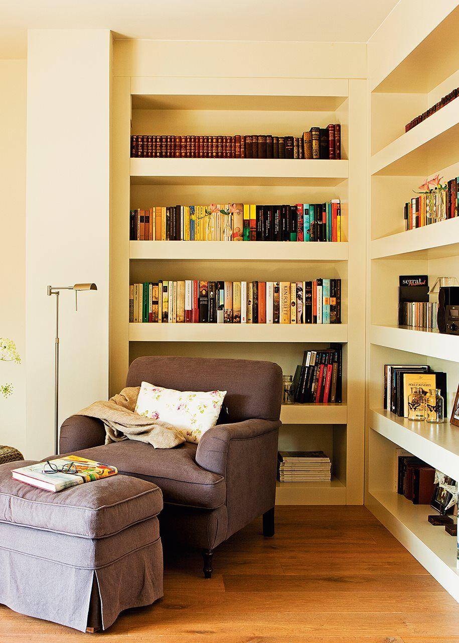Salones con librer a salones casa - Librerias salon ...