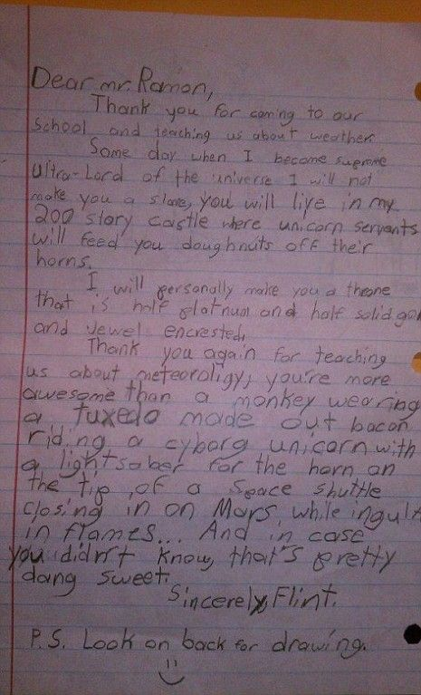 More Awesome Than A Monkey In A Bacon Tuxedo Childs Letter Goes