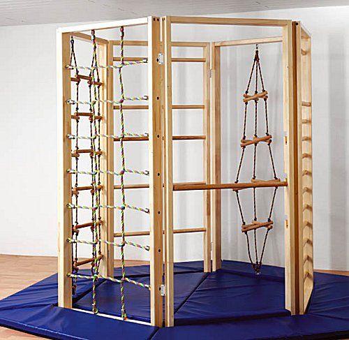 Climbing hexagon klettern kinderzimmer kinderzimmer - Kinderzimmer kletterturm ...