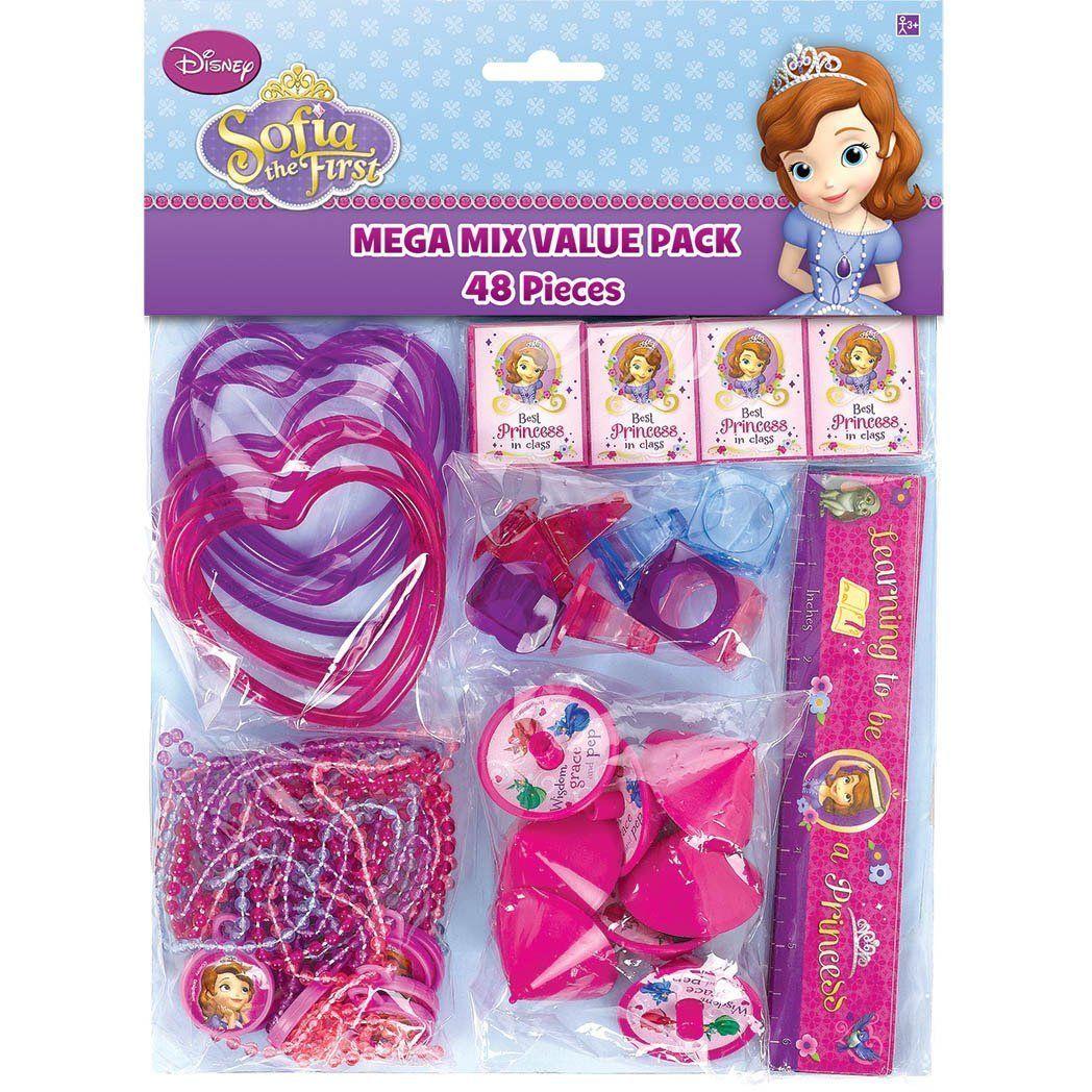 $13.29 - Disney Sofia The First Birthday Party Supplies 48Pc Mega ...