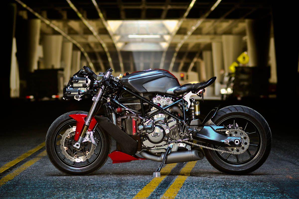 Ducati 749 By Apogee Motorworks Ducati 749 Ducati Cafe Racer Ducati