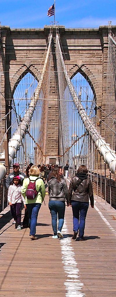 Brooklyn Bridge Promenade - New York City