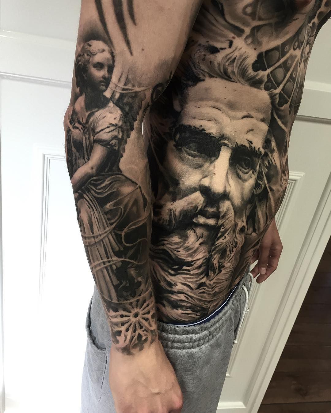 Tattoo Ideas Realism: Realistic Tattoo By Mark Wosgerau