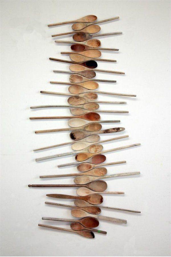 Wanddeko aus Holz originelle wanddeko ideen   ΚΑΤΑΣΚΕΥΕΣ   Pinterest   {Küchen ideen selber machen 61}