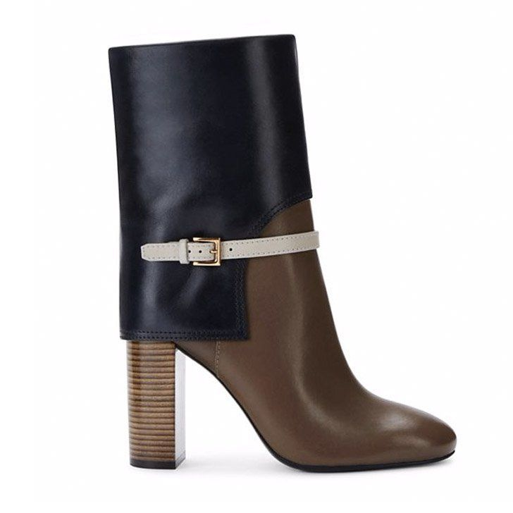 Pin for Later: The Boots You'll Love, Want, and Need All Season  Tory Burch Mid-Shaft Boots ($550)