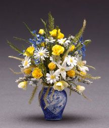 Gorgeous Flower Arrangement Blue