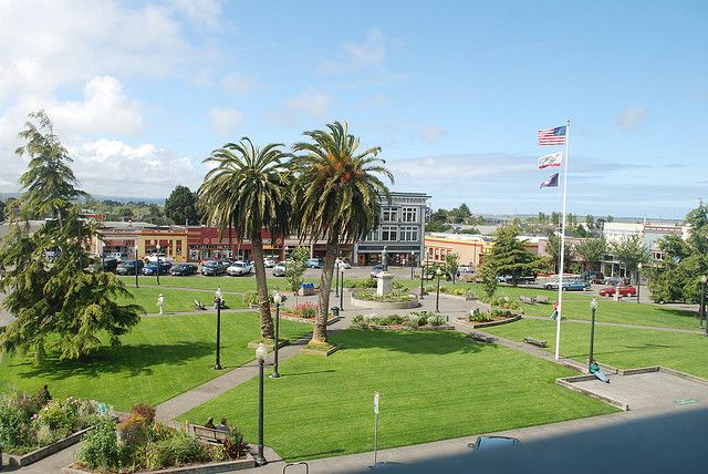 Arcata Ca One Of The Greenest Places You Ll Ever Visit Arcata California Great Places Small Town Life