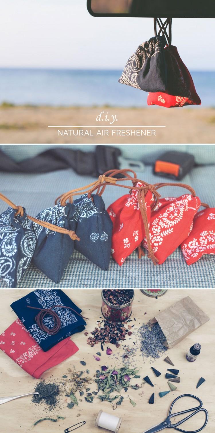 DIY Natural Car Air Freshener // Natürliche Dufterfrischer