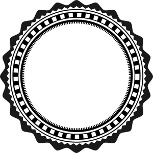 Publicdomainvectors Org Lencana Mewah Lencana Gambar Bingkai