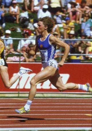 Marita Koch 400m Dash Track And Field Athlete Sports Stars
