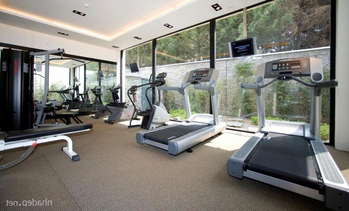 Gym Design Area Interior In Resort Exotic Banyan Tree Lijian Combining With Modern Luxury