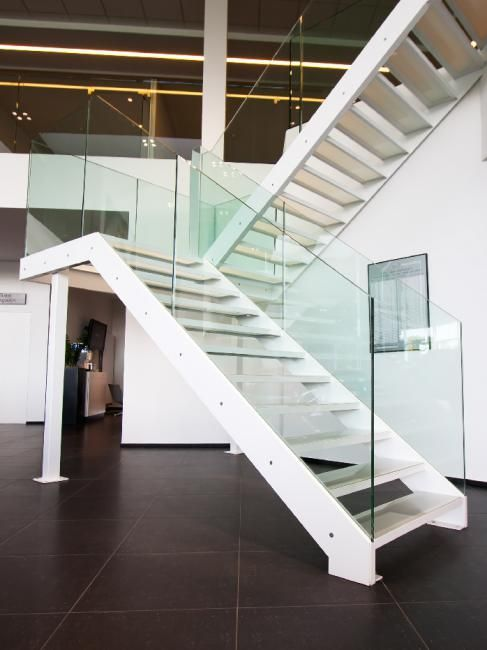 Contemporary Belgian architecture; #staircase