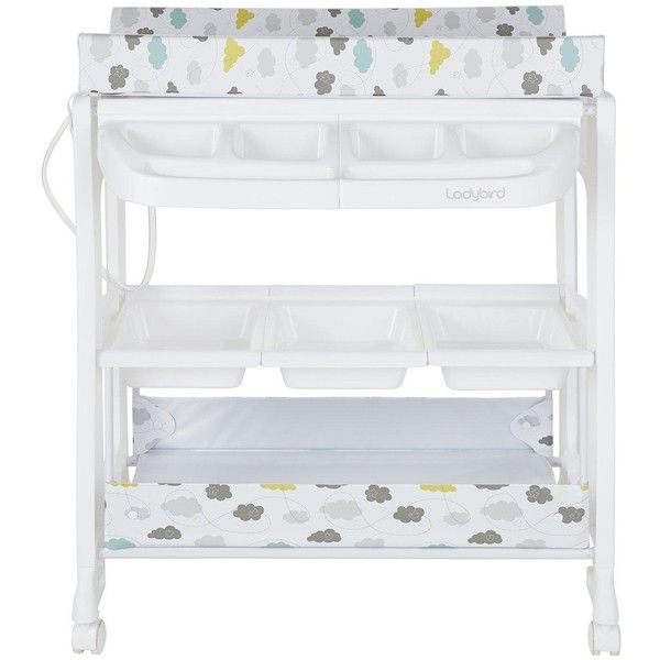 Ladybird Clouds Changing And Bathing Station ($125) ❤ Liked On Polyvore  Featuring Home And