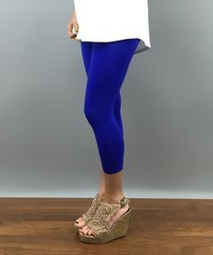 Capri Layne Leggings - Royal Blue - One Size | Royal Blue Capris ...