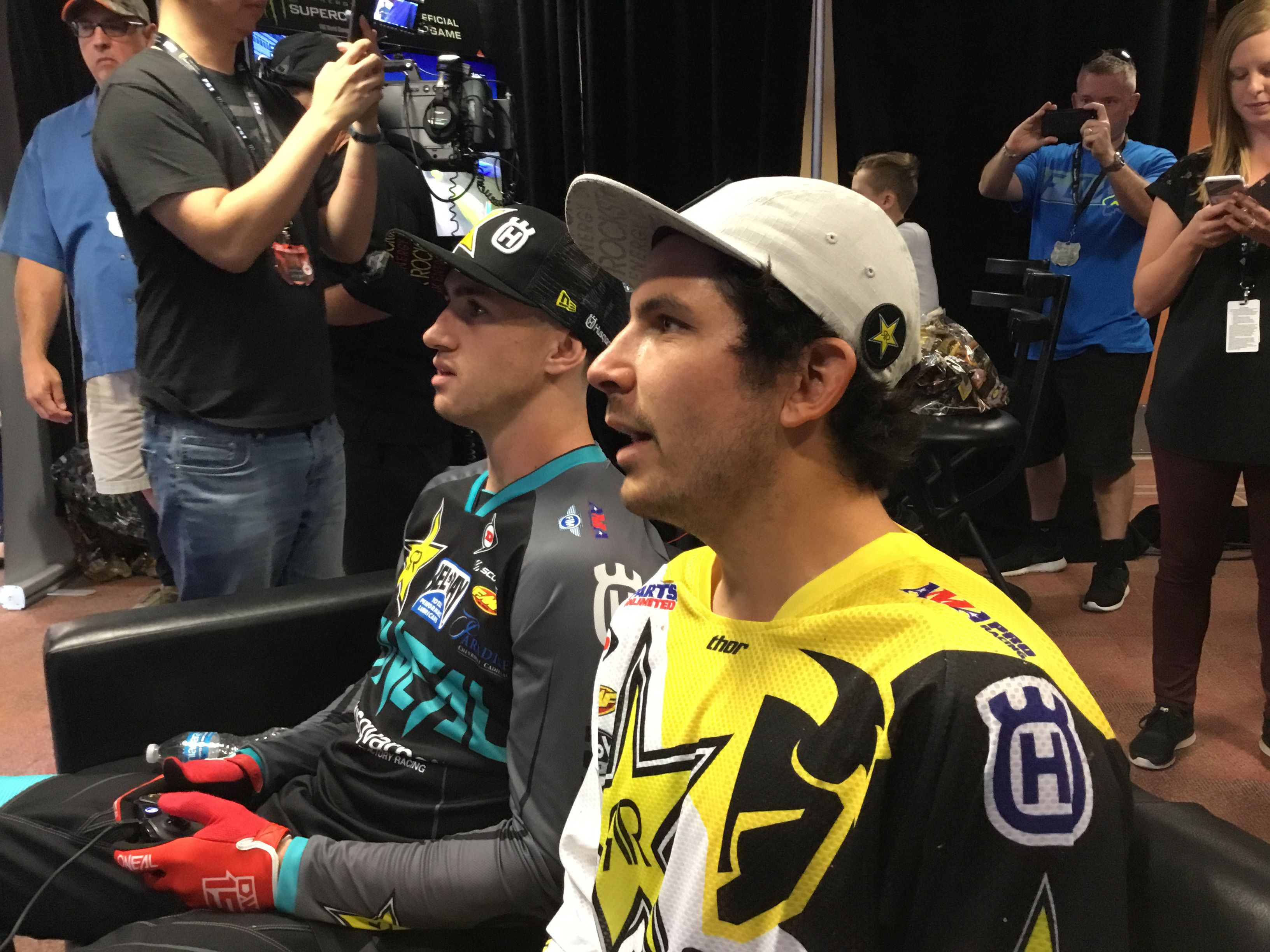 Beef, booze, and bikes How Supercross the game made me a
