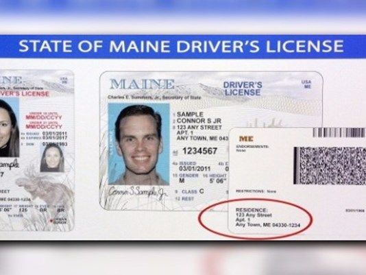 They Maine's Secretary … Begin To Of -- Licenses news Issuing Says Federal Under License The Watch Real Hope Maine Drivers Center State Augusta