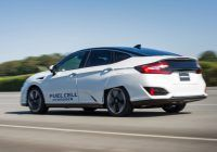 Honda Company Car Models Unique Clarity Fuel Cell 2017 Review By Magazine