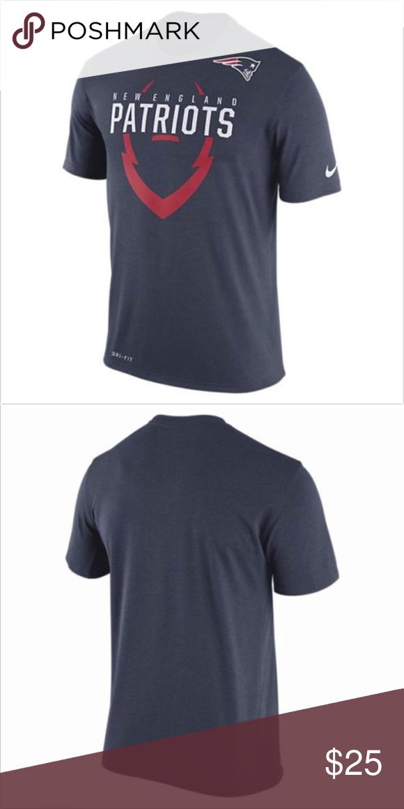 England Patriots Nike Nfl Dri Fit Football Shirt Football Shirts Nike Nfl Dri Fit