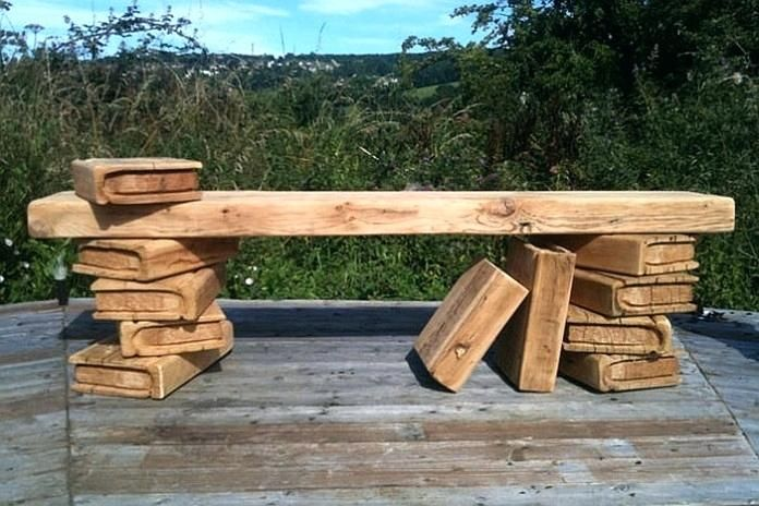 unique outdoor benches wooden chainsaw carved outdoor on extraordinary creative wooden furniture design id=75675