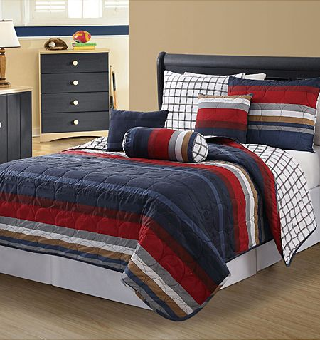 Hampton Boys Quilt Bedding Collection