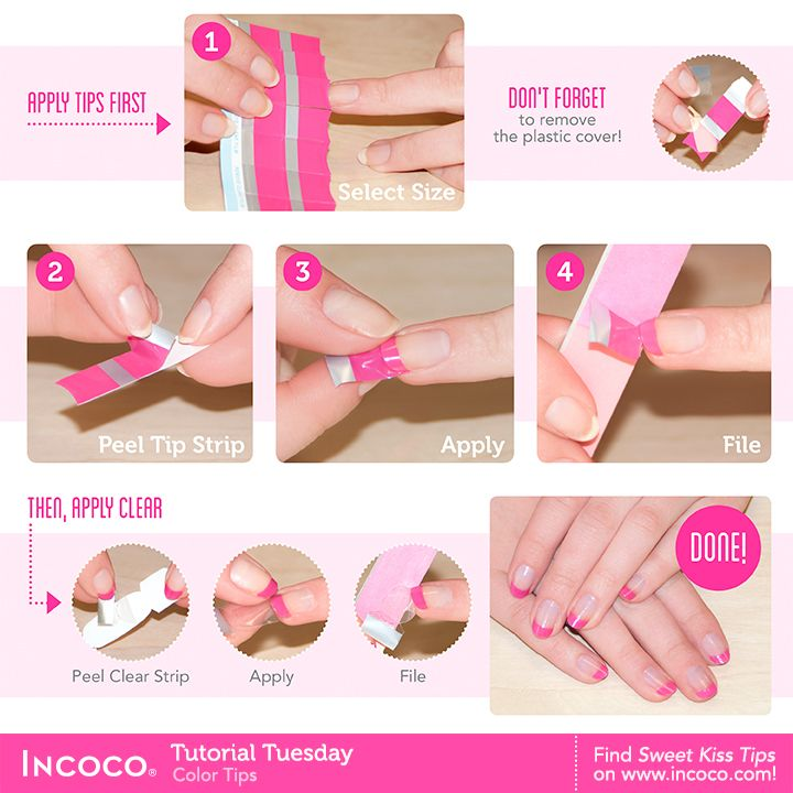 How To Apply Incoco Nail Polish Appliques Incoco Colorful Nail Art Chevron Nail Art Fashion Nails