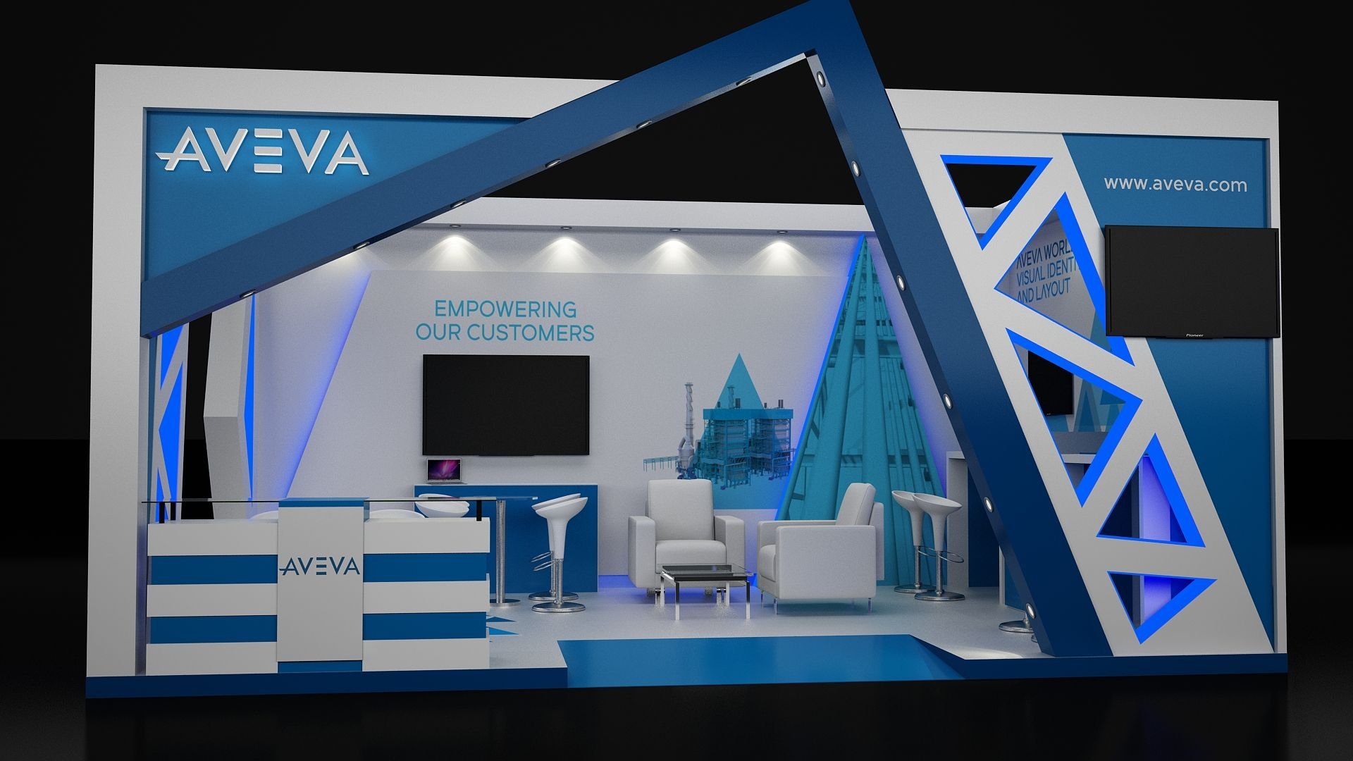 Exhibition Stand Or Booth : Exhibition stand design contractor stands in egypt booth design