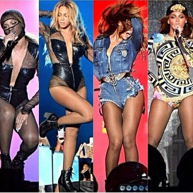 Beyonce tour costumes
