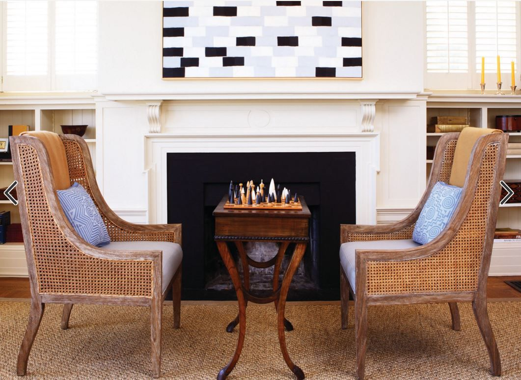Chairs In Front Of Fireplace Living Room Setup Living Room Table Living Room Remodel