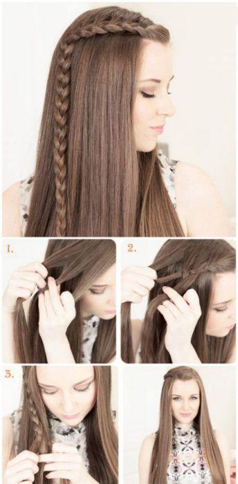 15 Estilos de trenzas ideales para dejarte crecer el fleco; serán tu salvación  – Peinados