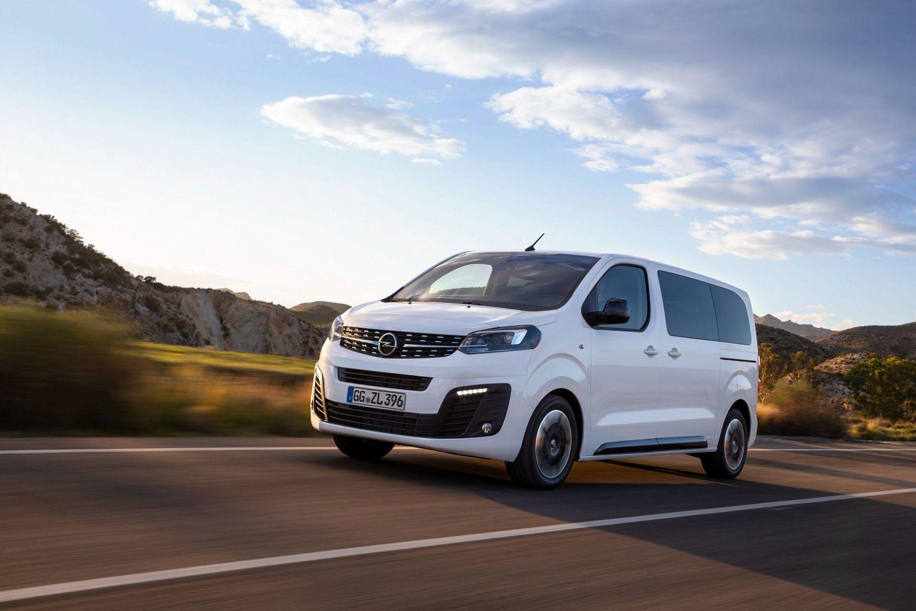 2020 Opel Vivaro Pictures