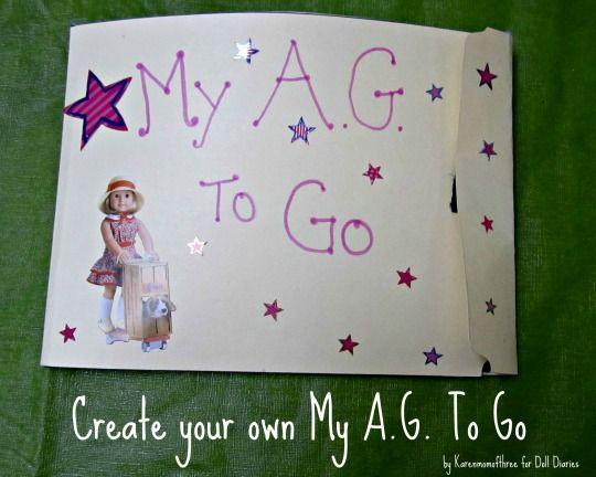American Girl Lapbook--- or DIY paper dolls
