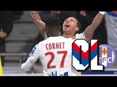 lyon vs toulouse  2-0 Ligue 1 01/04/2018