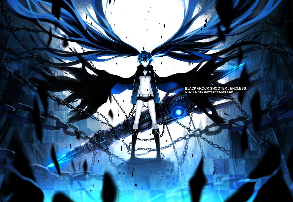 Black Rock Shooter Wallpapers Collection 2 Black Rock Shooter Black Rock Anime Cosplay Ideas Anime wallpaper black rock shooter