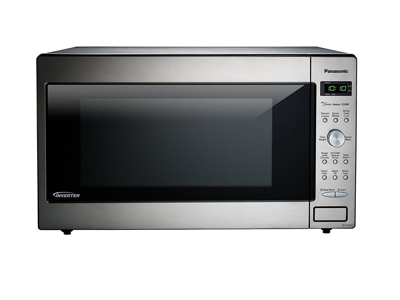 Amazon Com Panasonic Nn Sd945s Countertop Built In Microwave With