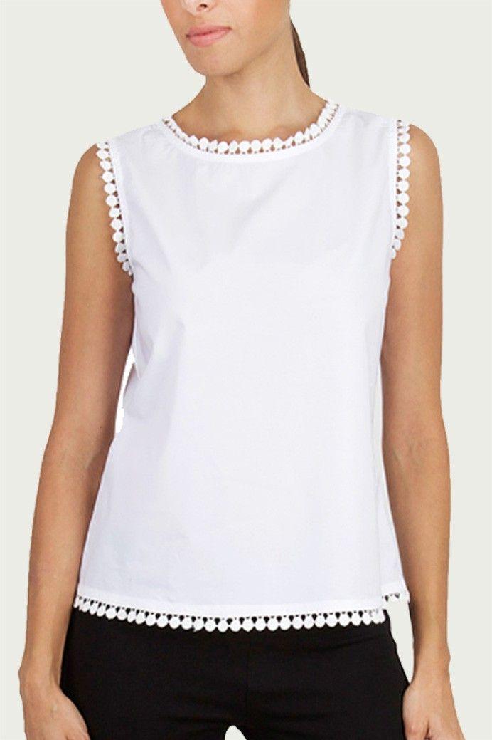 Guayabita - Camisa Blanca - Blusa Blanca - Vicenta | Moda ...