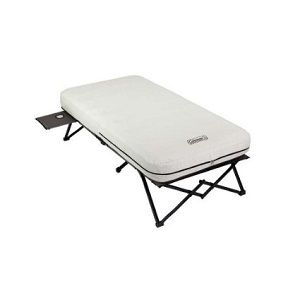 Coleman Twin Inflatable Air Bed With Legs Frame Is Good For Camping Spare Bed For Extra Guest Durable Coleman Air Mattress Camping Cot Air Mattress Camping