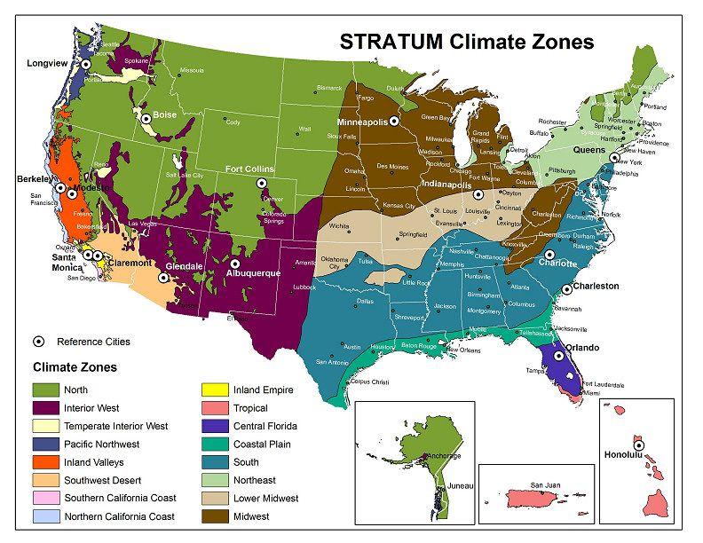 Climate Zones Map Revised 032814 Jpg 3404 2271 Vernacular Pinterest
