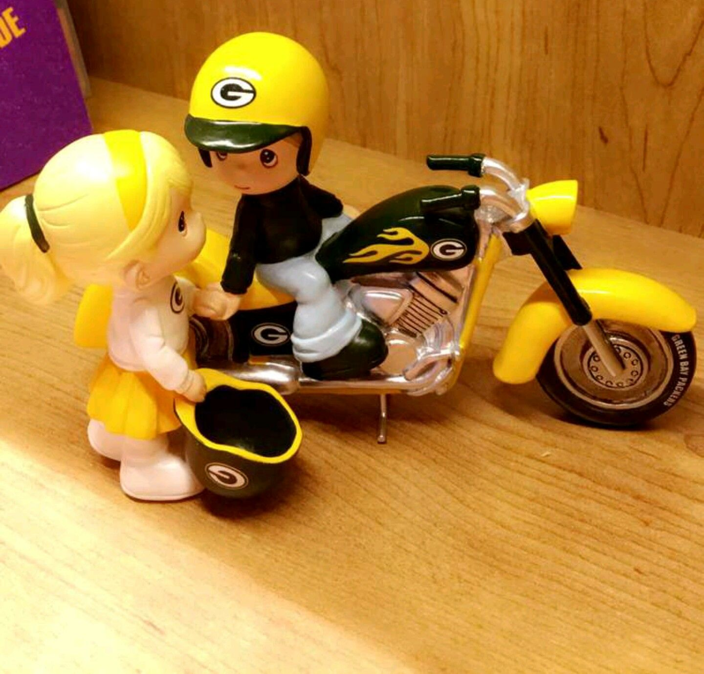 Green Bay Packers Precious Moments figurines