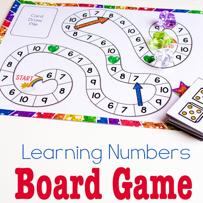 Free Hands-On Printables for Learning | Counting games, Learning and ...