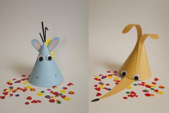 Bricolage Bambini ~ Lavoretto carnevale cappelli fai da te per bambini costumi