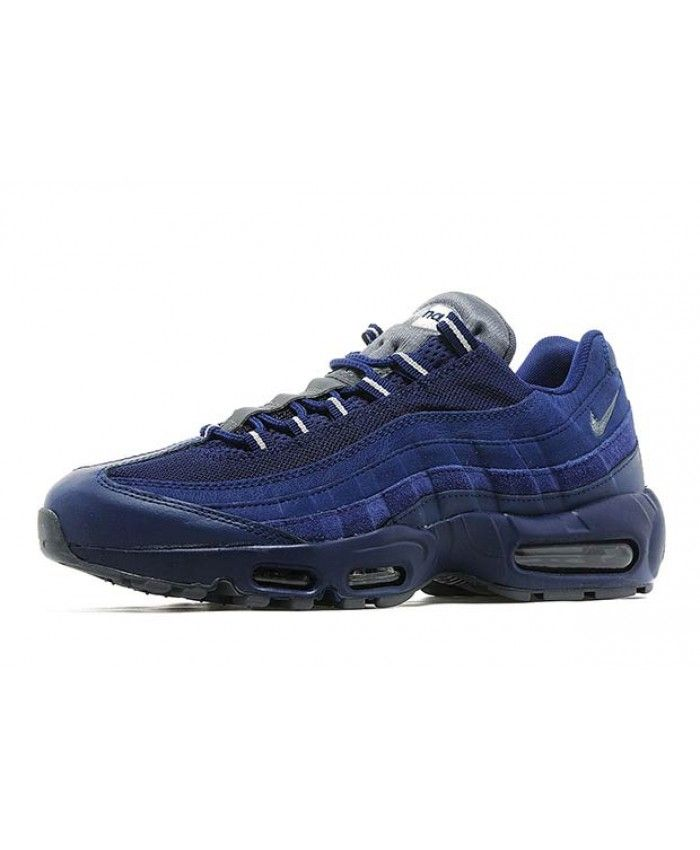 2ea839a430d Mens Nike Air Max 95 Dark Blue Suede Trainer Give you not the same popular  95 style shoes.